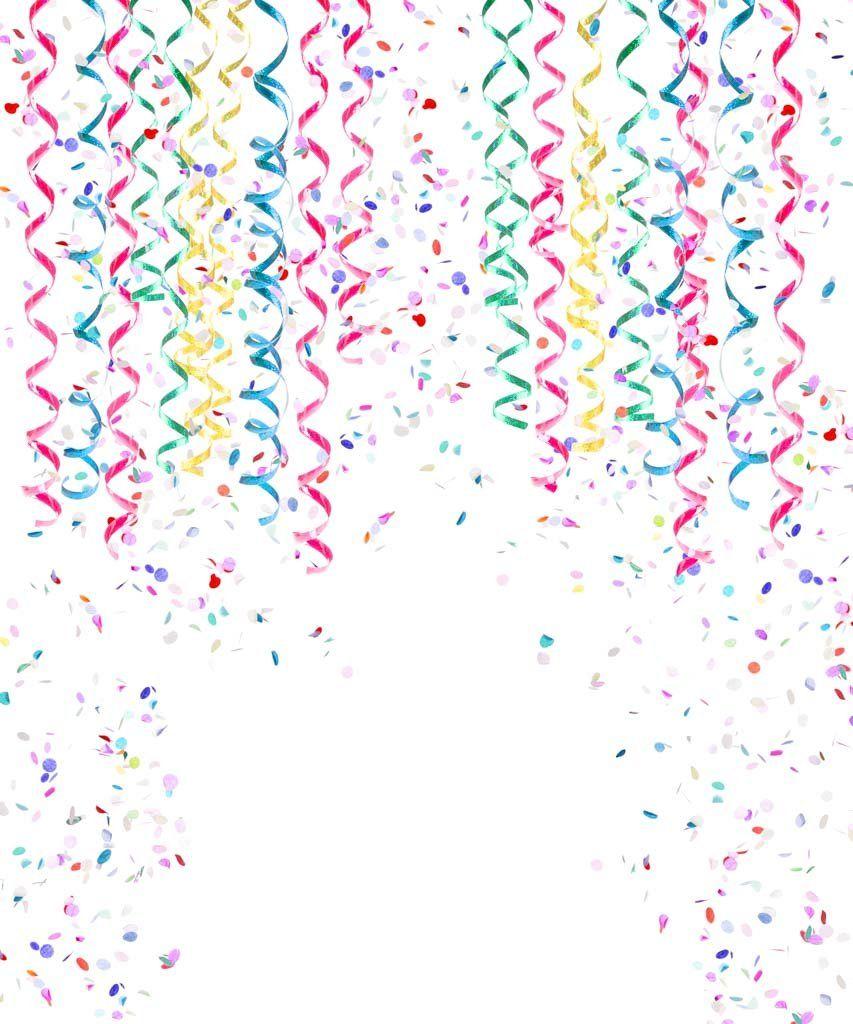 Fun Confetti Backdrop