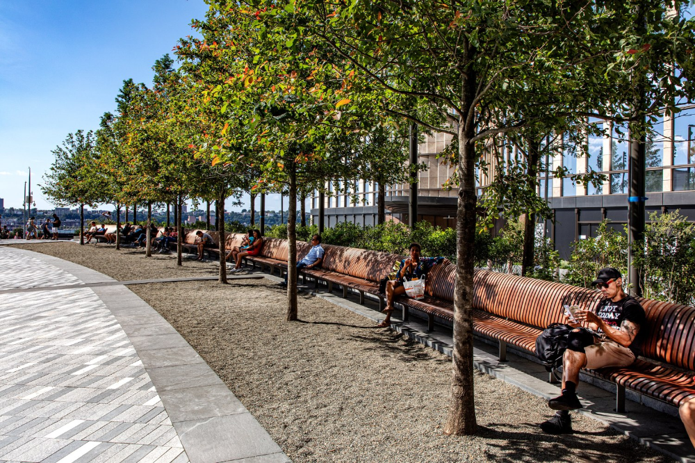 Gallery Of The Public Square And Gardens At Hudson Yards Nelson Byrd Woltz Landscape Architects 11 With Images Landscape Architect Landscape Hudson Yards