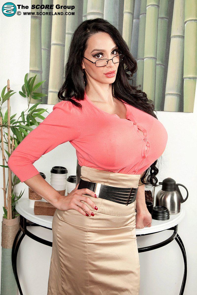 Amy Anderssen  Glasses  Sexy Frauen, Sexy Kurven, Frau-7103