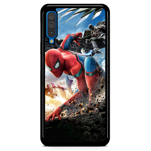 Spiderman Homecoming Z4987 Samsung Galaxy A50  Premium Case