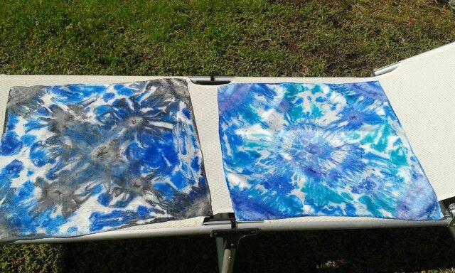 Pintando seda