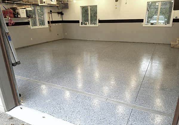 Is All Weather Floors Polyurea Garage Floor Coating Best All Garage Floors Garage Floor Garage Floor Coatings Flooring