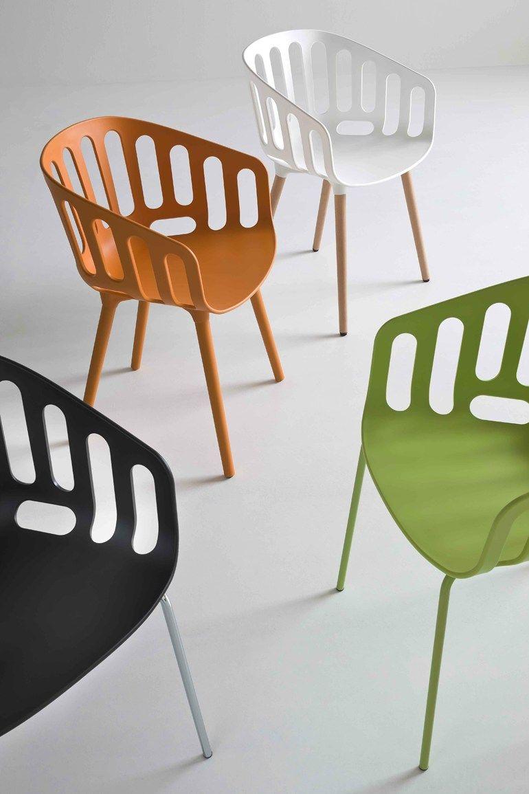 Chair With Armrests Basket Chair By Gaber Design Alessandro Busana Mobilier De Salon Mobilier De Bar Et Fauteuil Design