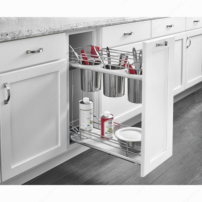 Best Two Tier Utility Organizer For Utensils 1 Kitchen Bin 400 x 300