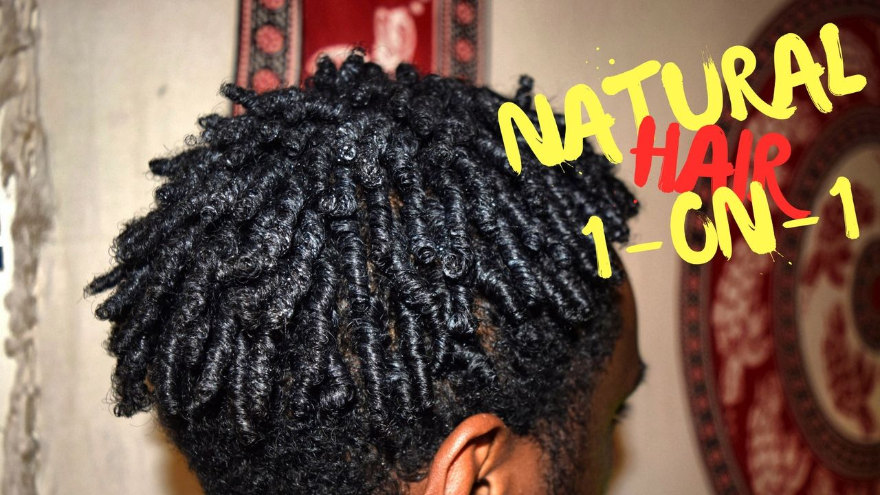 how to: defined finger coils | finger coils on natural hair