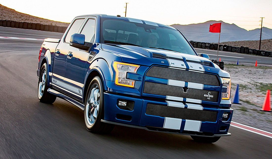Shelby S F 150 Super Snake Is A Performance Street Truck Packing