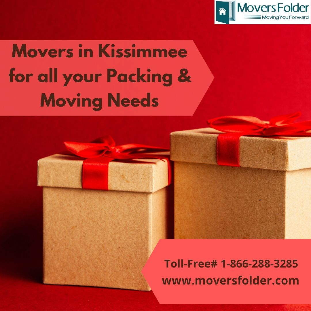 Movers In Kissimmee For All Your Packing Moving Needs In 2020