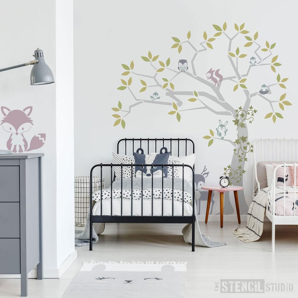 Pin By The Stencil Studio On Fabulous Tree Stencils From
