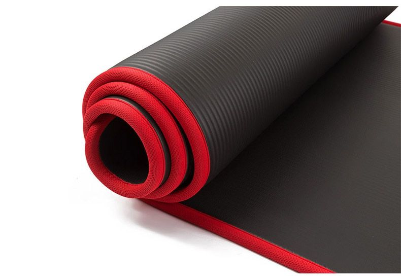 10mm Yoga Mat Extra Thick 1830 610mm Nrb Non Slip Pillow Mat In 2020 Thick Yoga Mats Workout Pad Pilates Yoga Mat