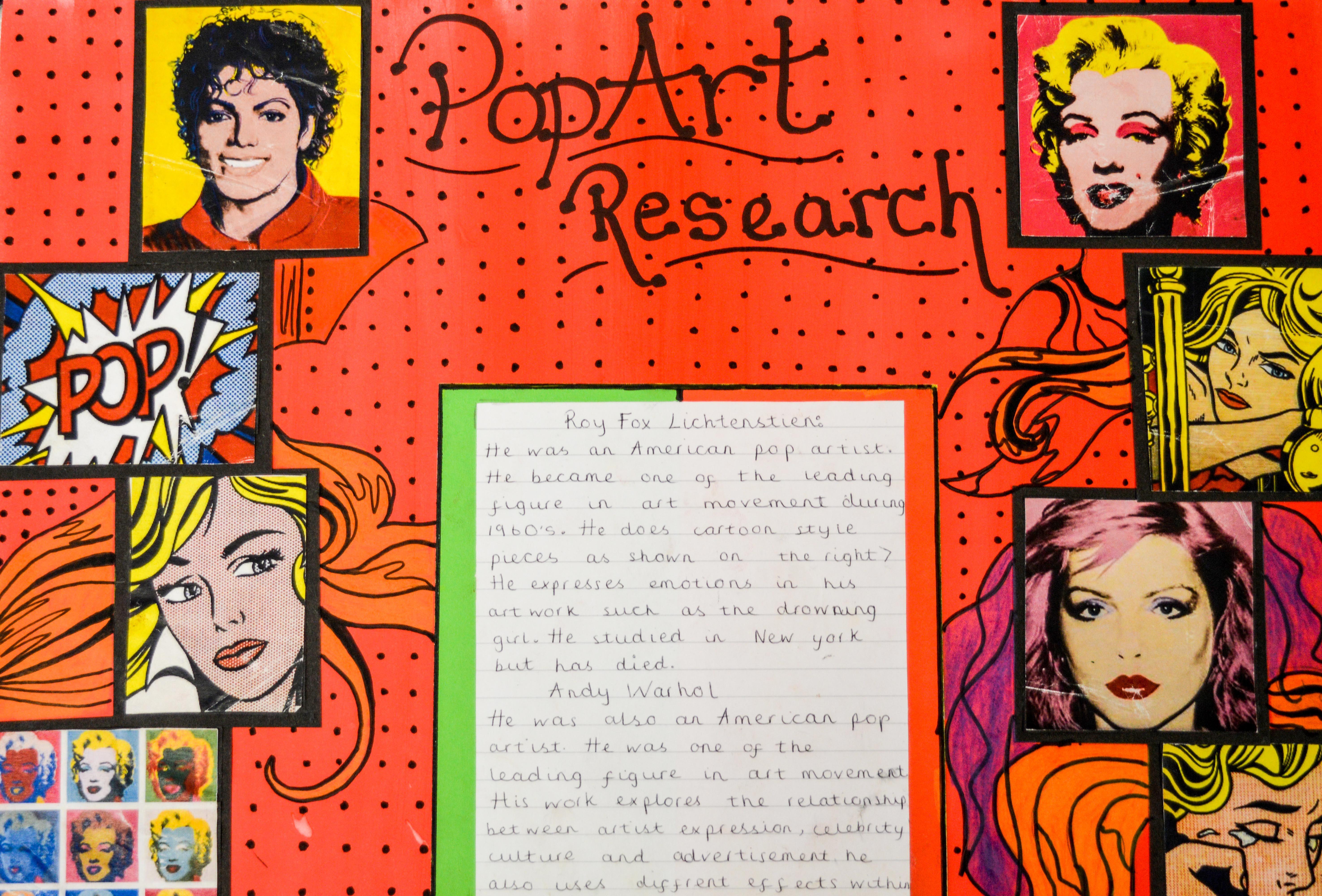 types of pop art