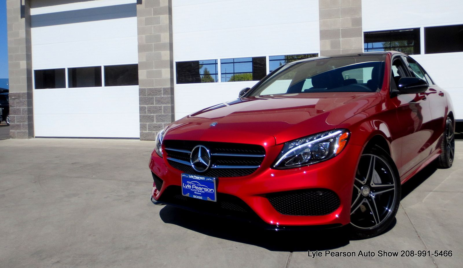 C300 In The Lovely Cardinal Red Color Mercedes Benz Mercedes