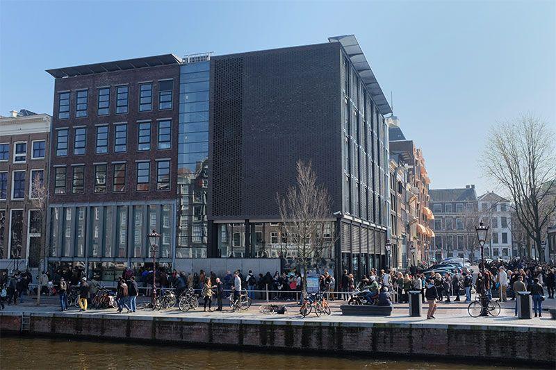 Les Carnets De Voyage Et Photos La Maison Danne Frank A Amsterdam