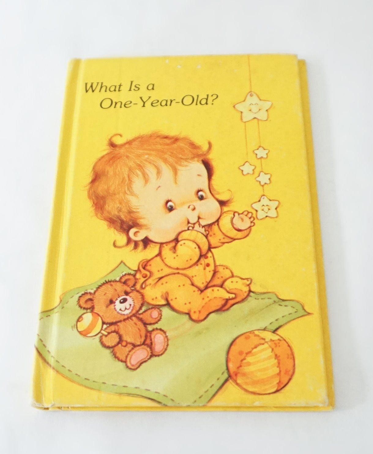 What is a one year old american greetings 1980s hardcover book what is a one year old american greetings 1980s hardcover book vintage birthday m4hsunfo