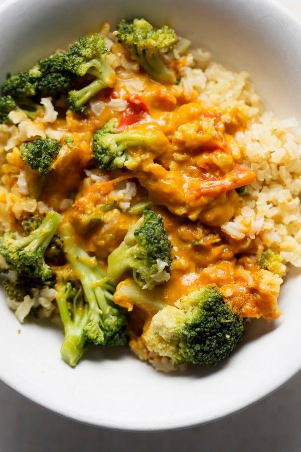 Cremiges Gemüsecurry auf Basmatireis  – Recipes :)