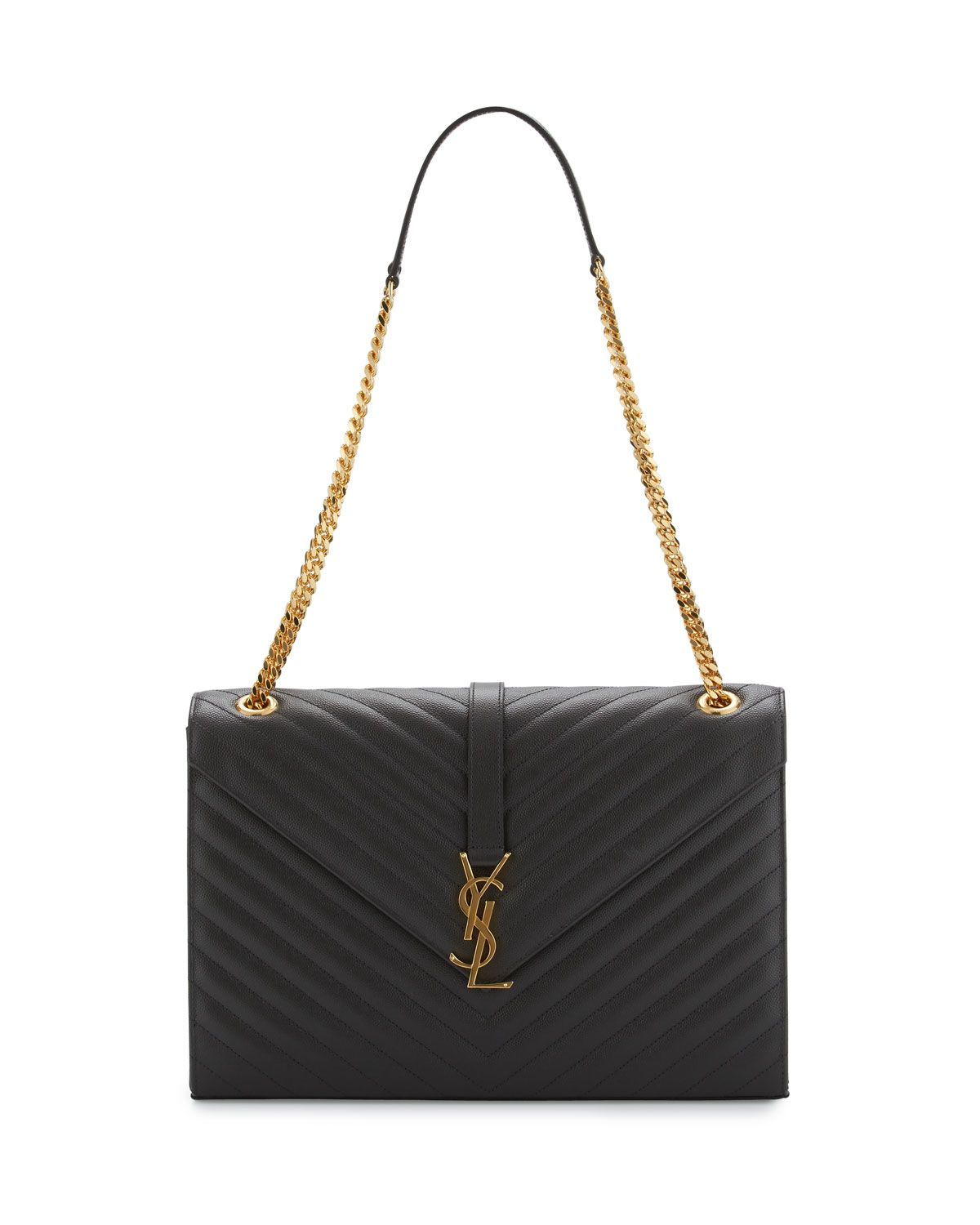 926891f163d Saint Laurent Monogram Matelasse Shoulder Bag in 2019 | Bags | Ysl ...