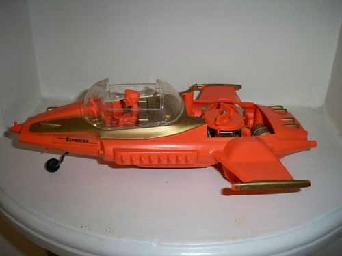 Remco 1963 Remco Supercar Gerry Anderson Supercar Mike Mercury Toy Gerry Anderson Super Cars Toys