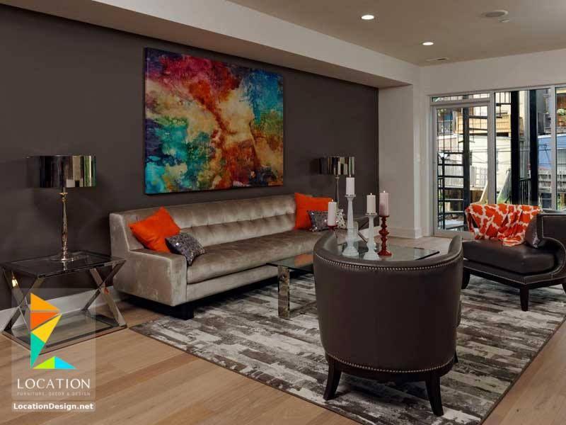ديكورات دهانات الوان دهانات حوائط مودرن 2018 2019 Living Room Paint Accent Walls In Living Room Paint Colors For Living Room