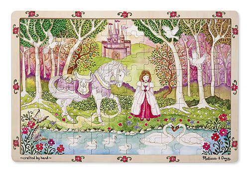 Melissa-&-doug Melissa & Doug Princess Wooden Jigsaw - 96 Piece | Buy Online in South Africa | takealot.com