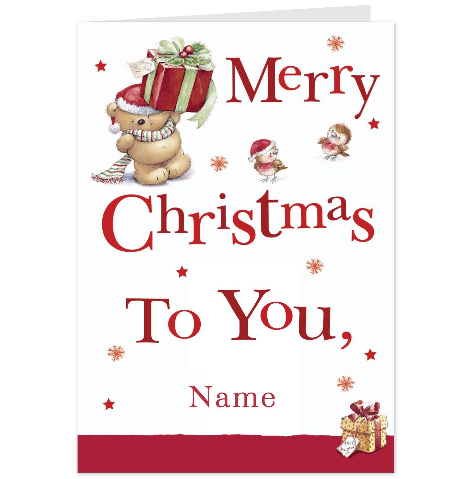 Christmas Cards, Merry Christmas To You, Hallmark Cards