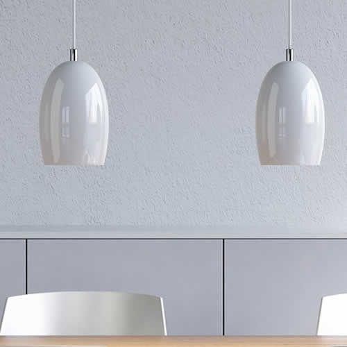 hanglampen glas wit eettafel huiskamer pinterest indoor and