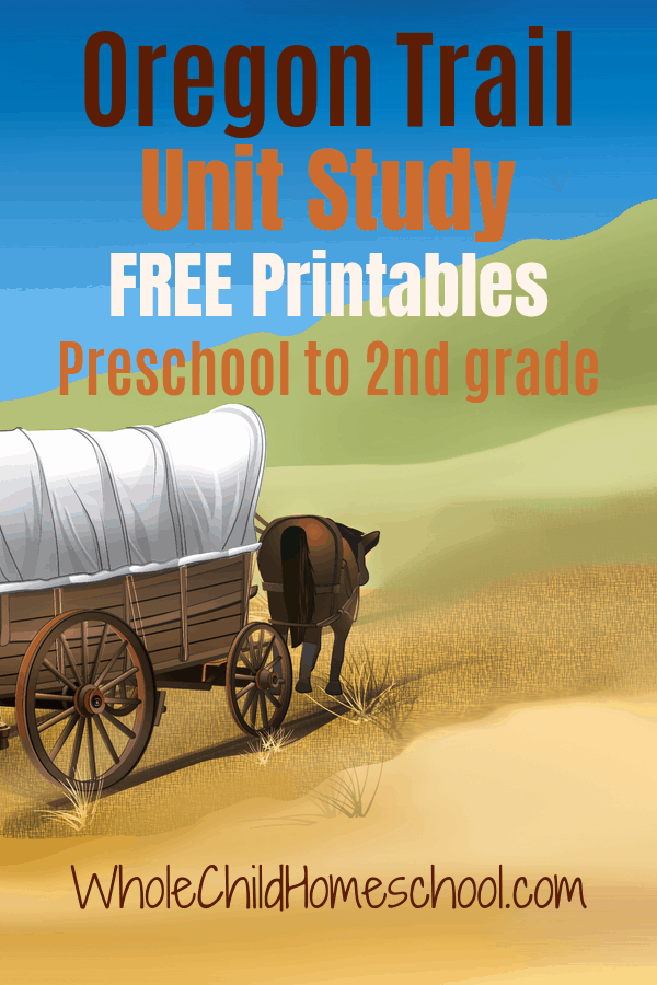 Photo of Oregon Trail Unit Study for Primary Learners
