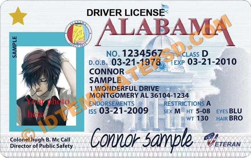 Template Montana drivers license editable photoshop file psd Fake - fresh hard drive destruction certificate template