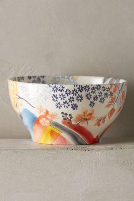 Anthropologie Garden Palette Bowl #anthrofave #anthropologie
