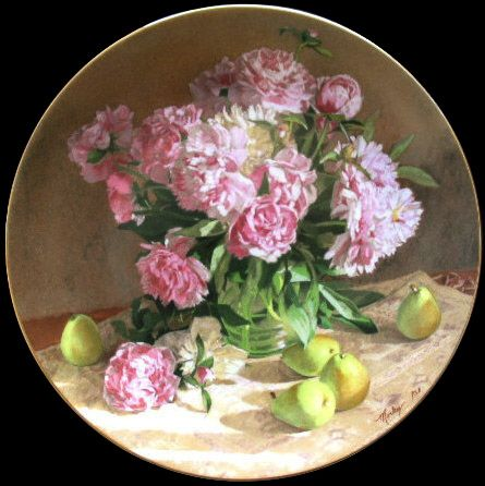 Peonies: Flowers Of Your Garden By Morley George Plate