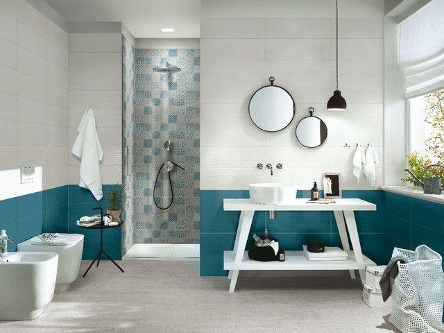 Rivestimento bagno supercolorato fresh idee bagno
