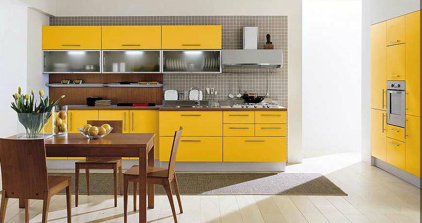 Amarillo | Cocinas de colores atrevidos | Pinterest | Searching