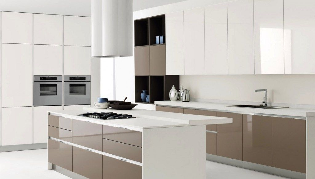 White Brown Kitchen Designs - talentneeds.com -