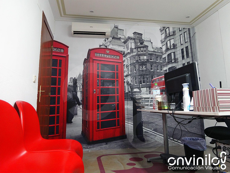Fotomural vinilo Londres #decoración #fotomurales #oficinas | home ...