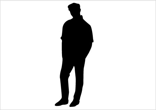 young man silhoette man sitting on a chair silhouette graphics rh pinterest com man silhouette vector free download iron man silhouette vector