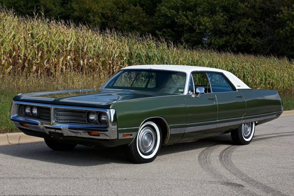 1972 Chrysler New Yorker 4 Door Hardtop Maintenance Restoration Of