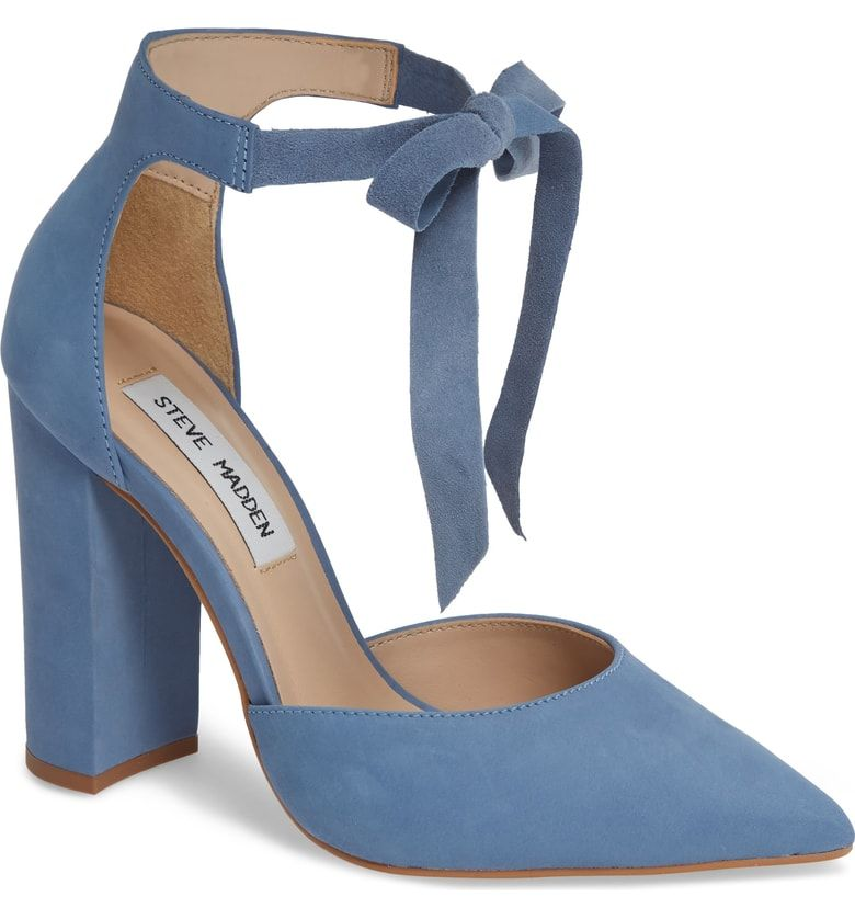 f2532cd3cf Free shipping and returns on Steve Madden Pearl Pump (Women) at  Nordstrom.com. A dainty bow at the ankle ties up this pointy-toe pump with  picture-perfect ...