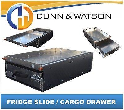 125kg Fridge Slide Cargo Drawer Waeco Evacool Engel Arb 4x4