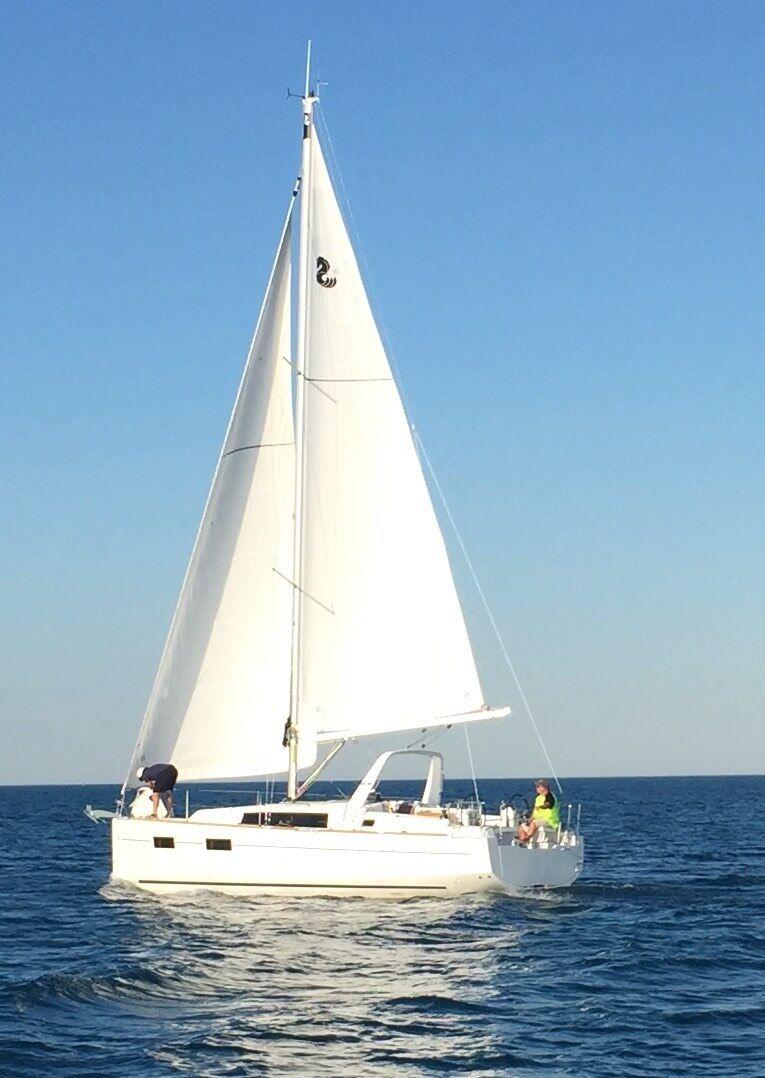 2017 Oceanis 35 » Port Sanilac Marina in 2020