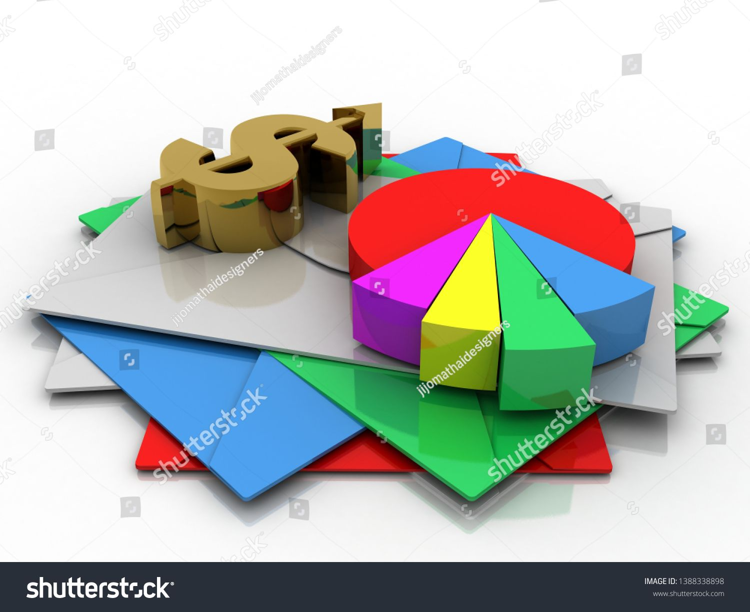 3d Rendering Stock Market Online Business Concept Business Graph With Dollar Sign Sponsored Online Business Marketing Business Stock Images Online Marketing