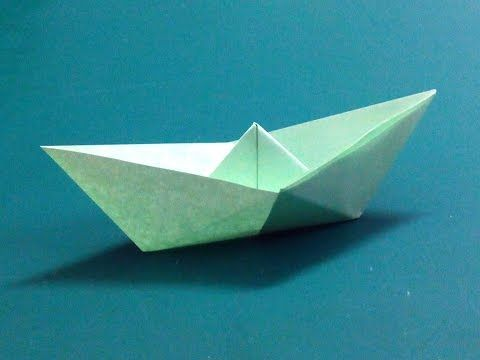 How To Make An Origami Paper Boat 2 Origami Paper Folding