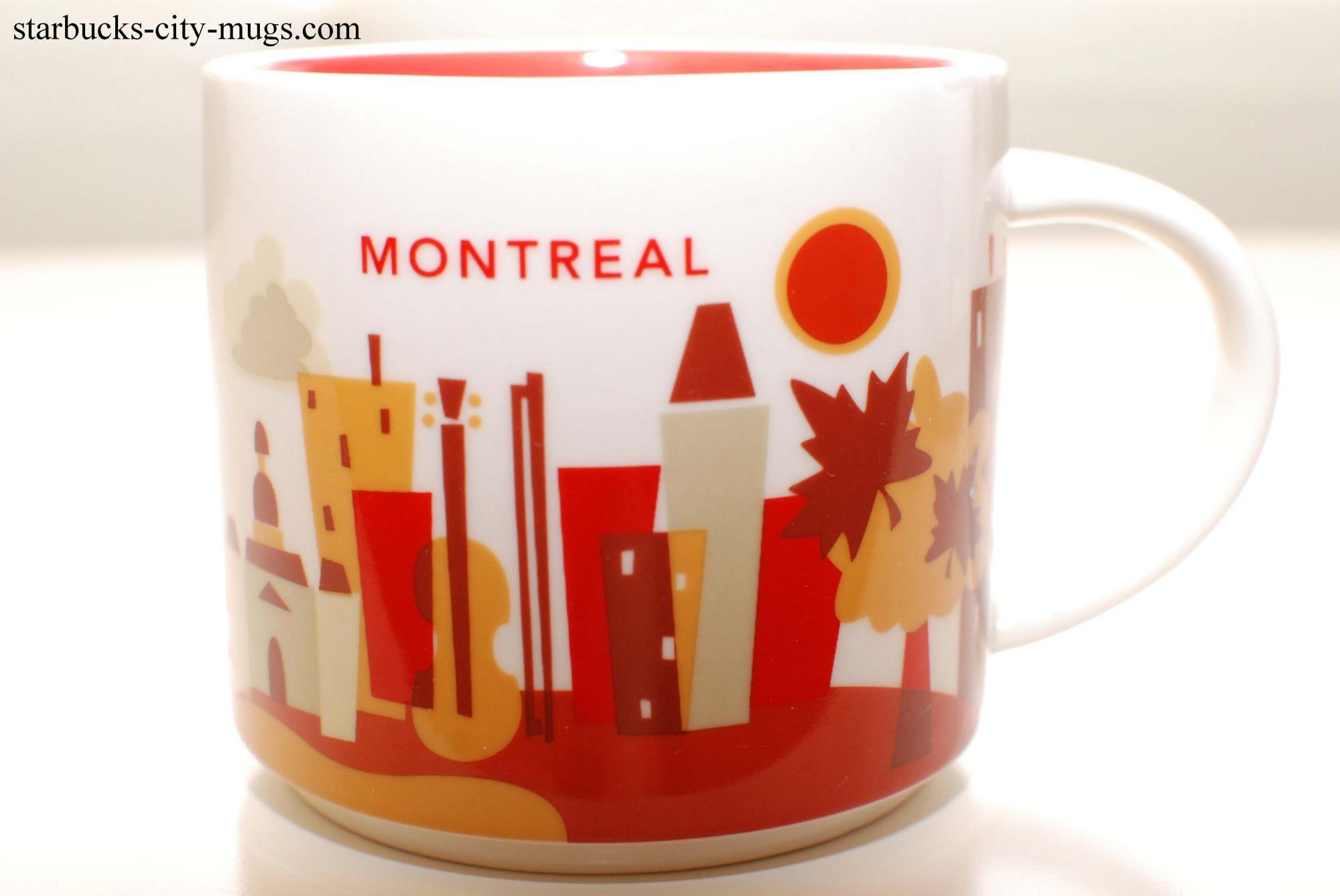 Here MontrealYou Series Starbucks Are Mugs City AR54L3j