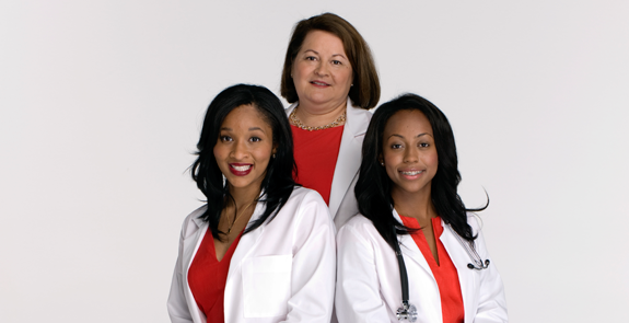 Diverse Women Going Into The Healthcare Field Can Apply For Go Red