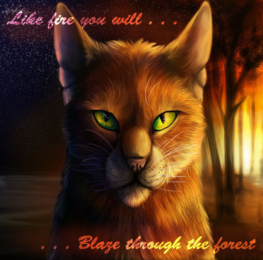 Cool, But The Quote  Is Bluestar's Prophecy