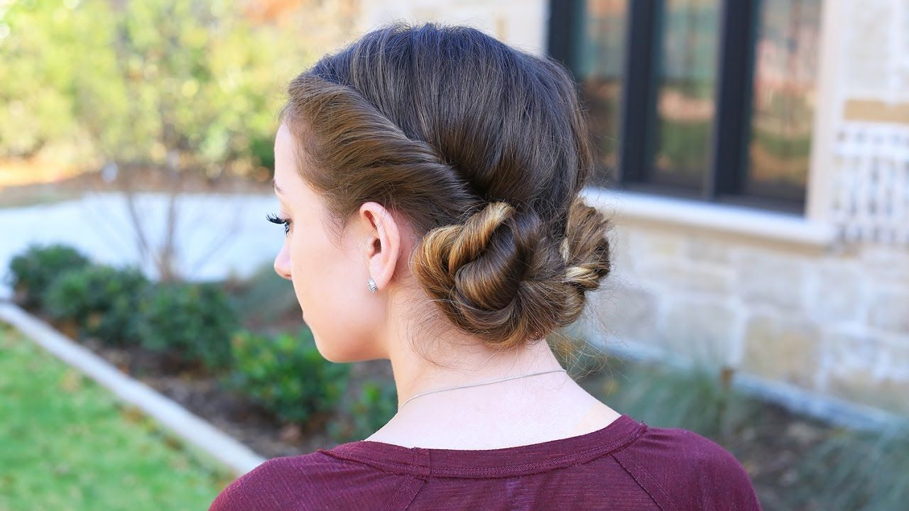 How to Create Twistback Buns in Your Hair? | Vintage Hairstyle ...