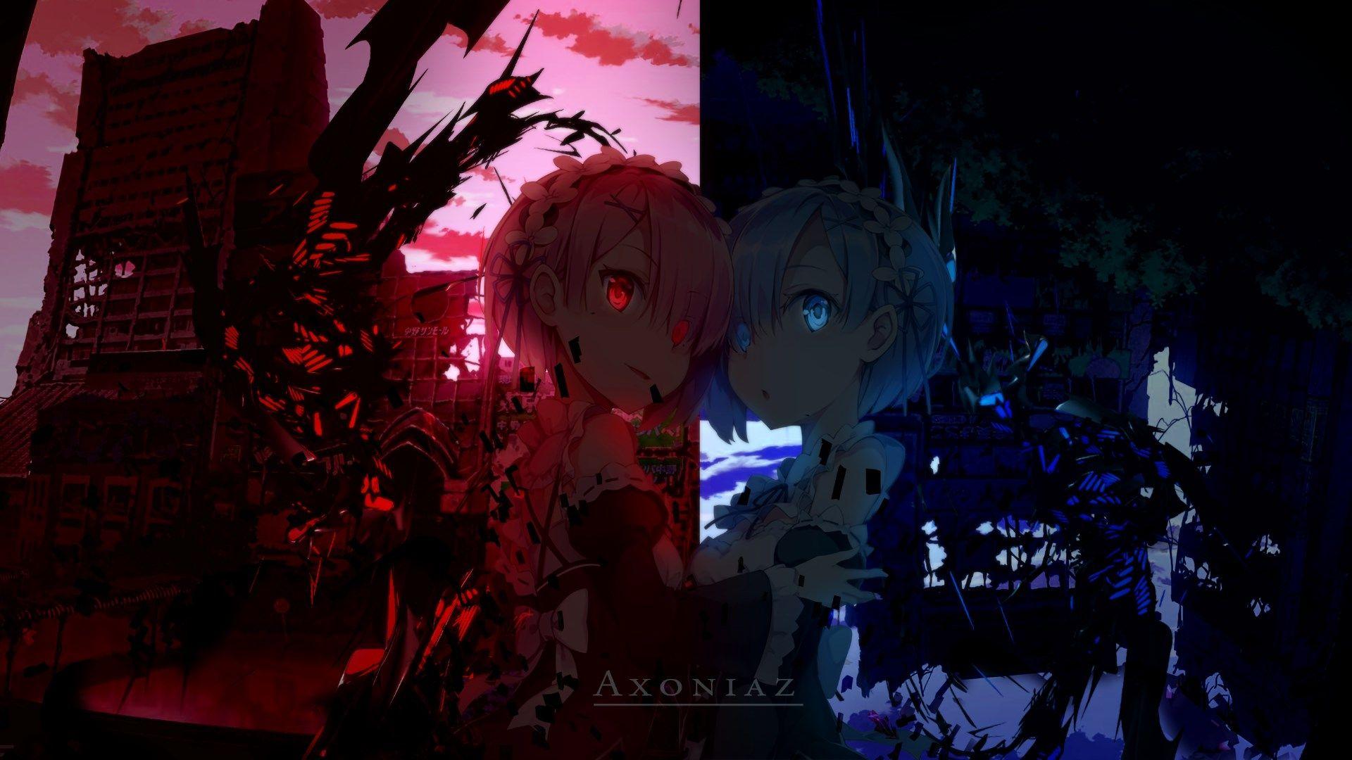 desktop wallpaper for rezero starting life in another