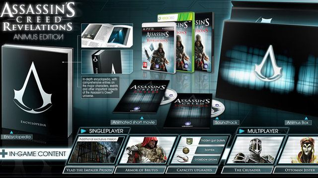 Special Edition Of Assassin S Creed Revelations Sends Ezio After Vlad The Impaler Assassins Creed Assassins Creed Game Assassin S Creed