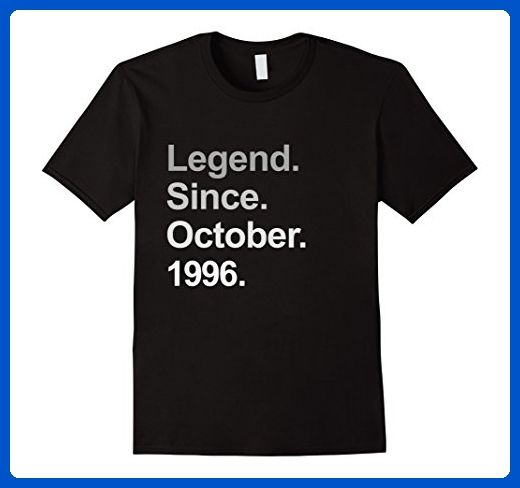 Mens Legend Since October 1996 Shirt