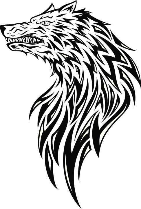 Tatuajes De Lobos Tribales 09 Jpg 487 720 Tatuajes De Lobos