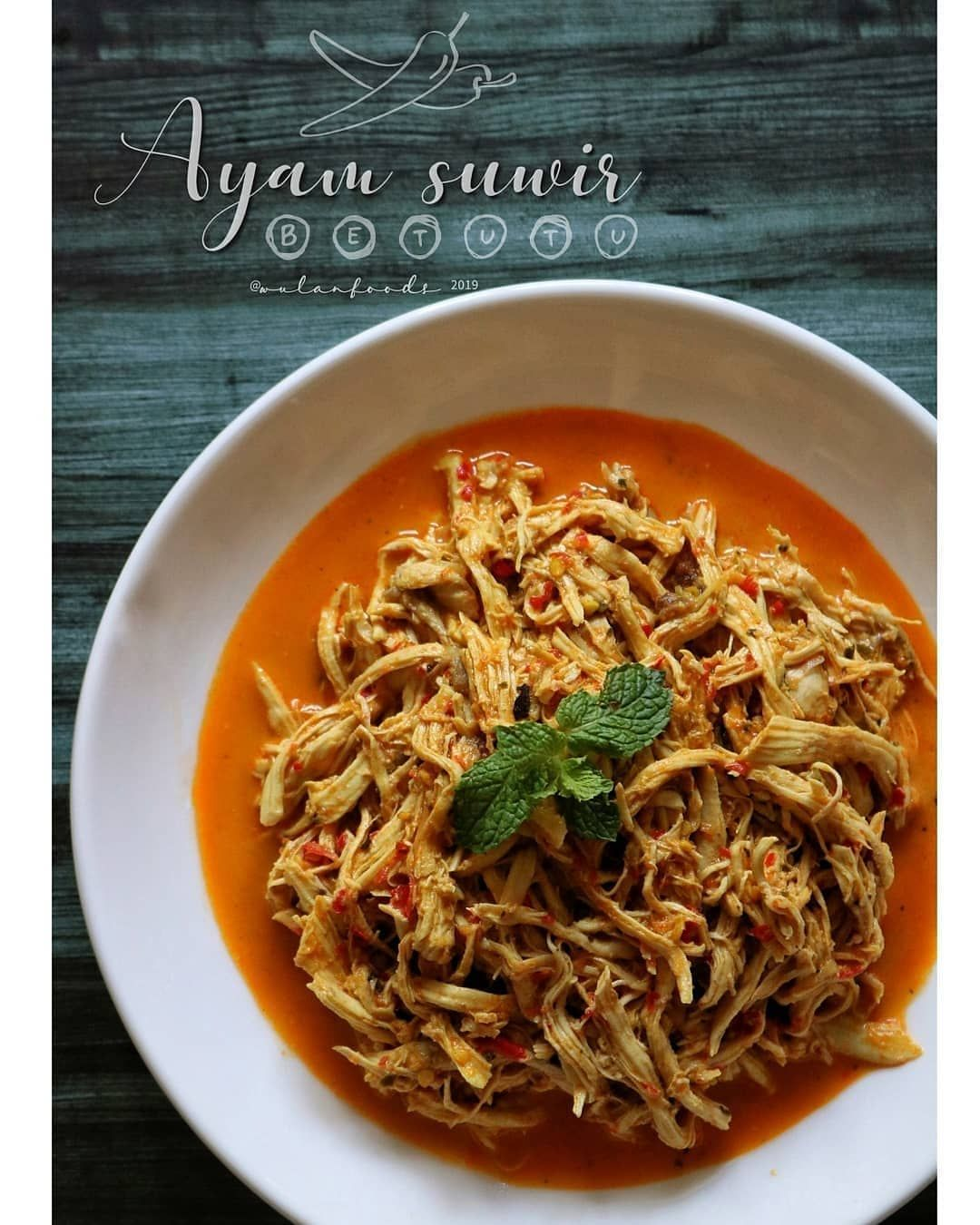 Doyan Cooking Di Instagram Resep Ayam Suwir Betutu By Wulanfoods Bahan 1 Dada Ayam Cuci Bersih Rebus Sampe Empu Resep Ayam Suwir Resep Ayam Dada Ayam