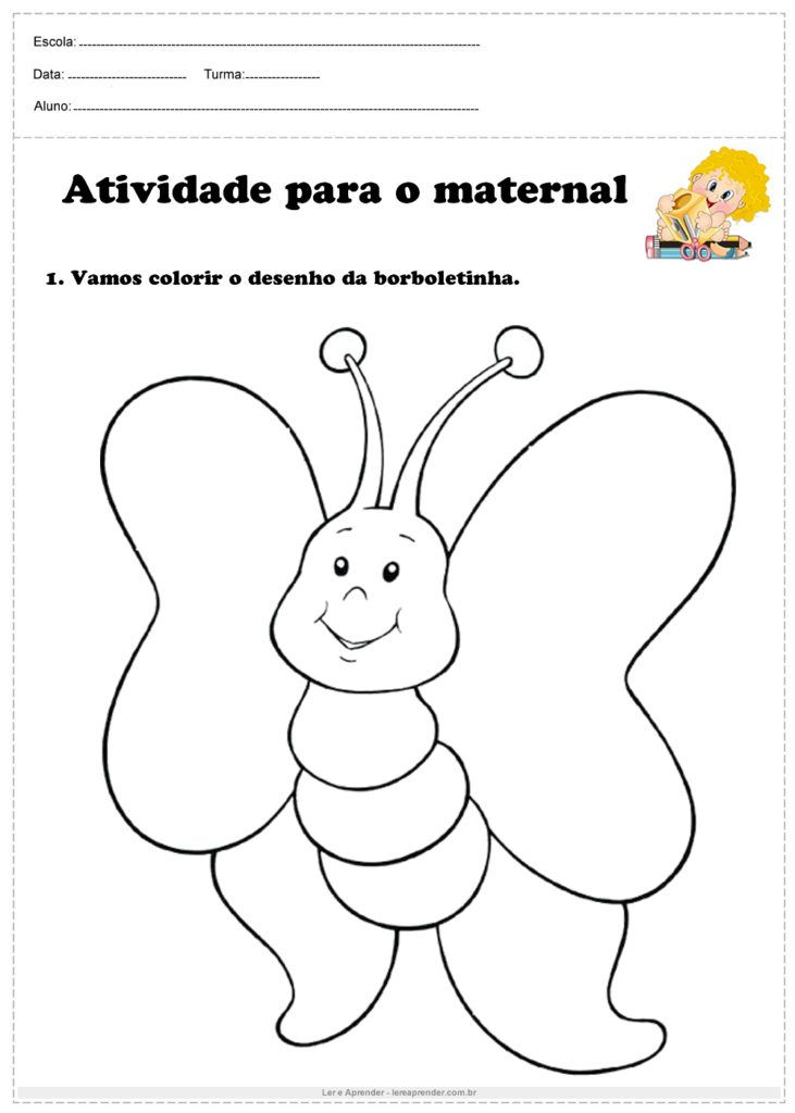 20 Atividades Para O Maternal Atividades Para Maternal