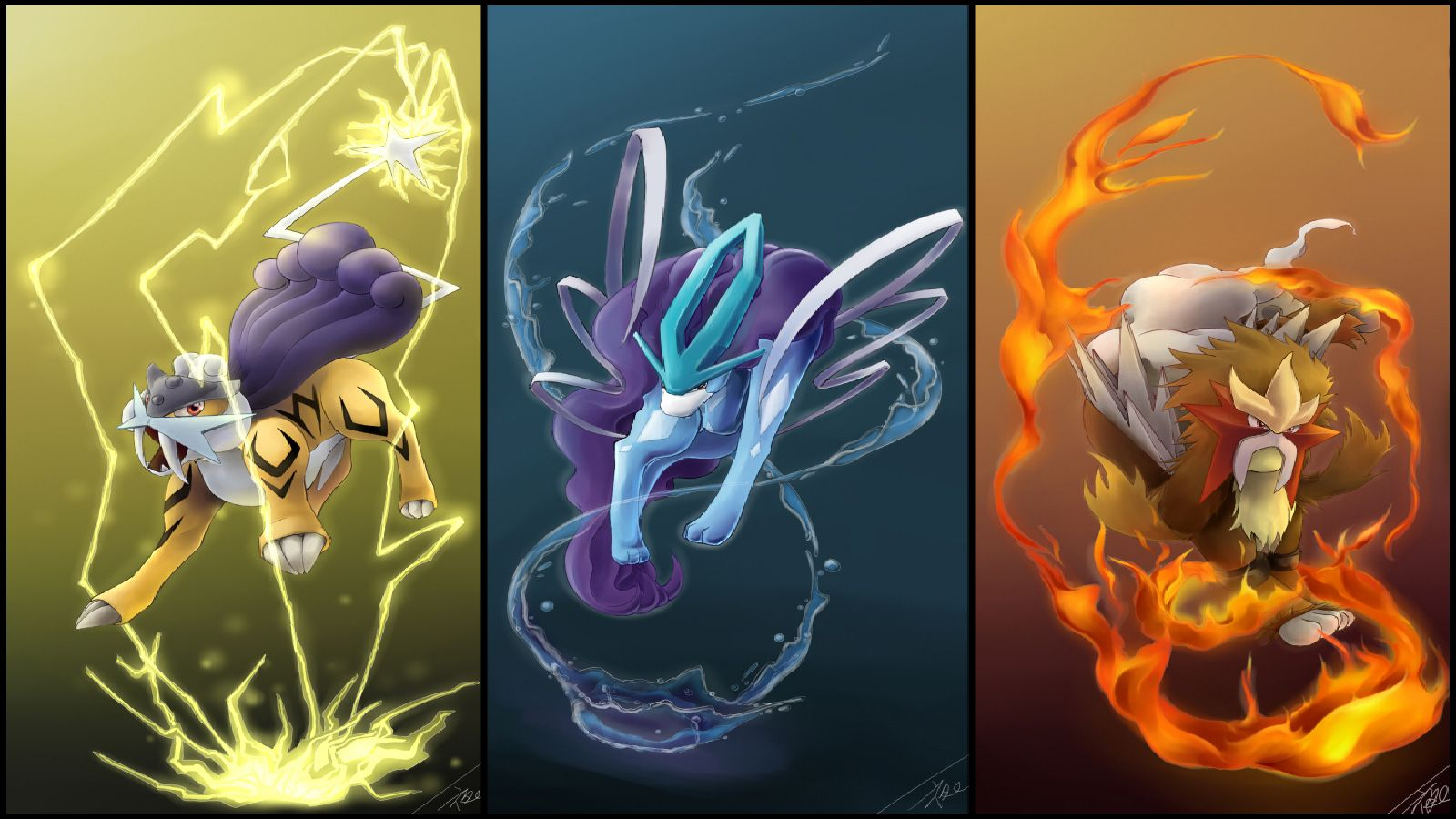Pokemon Gold Legend Silver Wallpaper 569191 Wallbase Cc